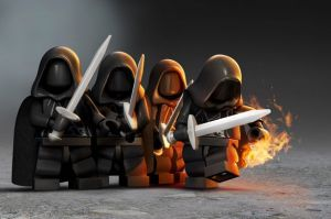 LEGO Hobbit Cloaks