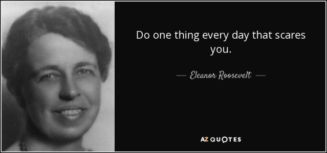 Picture of Eleanor Roosevelt with her quote,