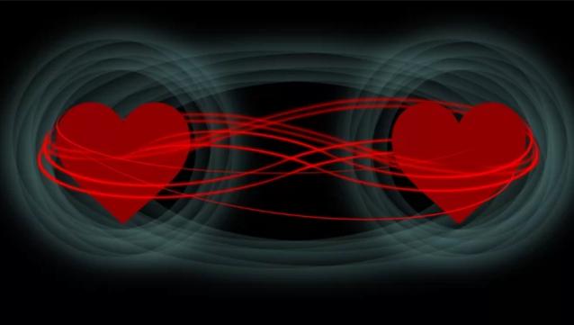 quantum entanglement hearts