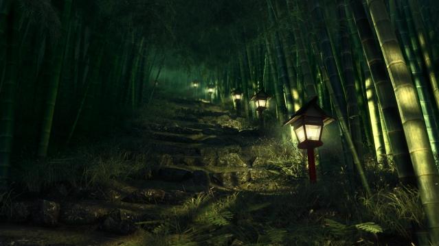 lantern path