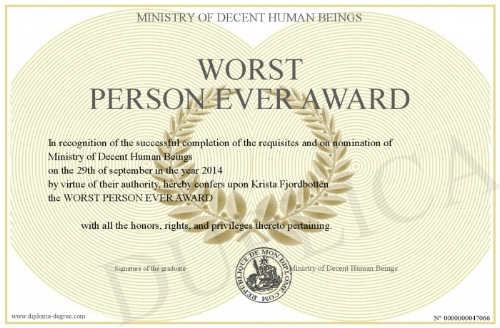 worst+person+ever+award