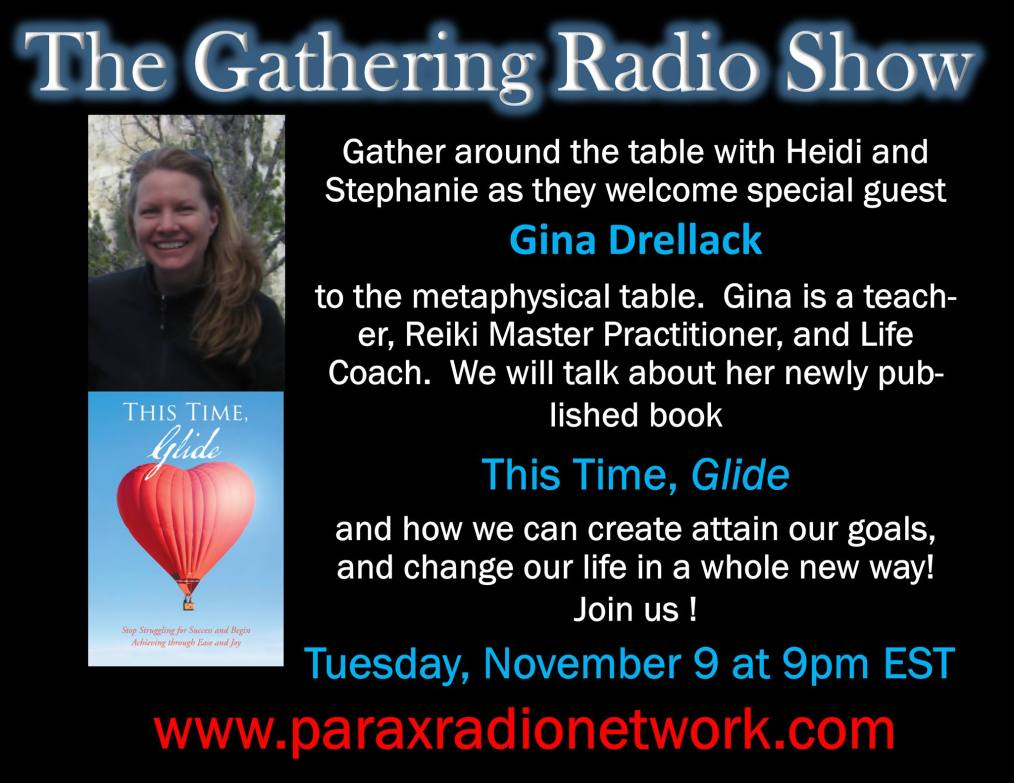 radio show thumbnail of gina's interview.
