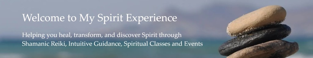 banner from My Spirit Experience website, linked